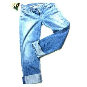 Citizens of Humanity Cropped Jeans with Cuff